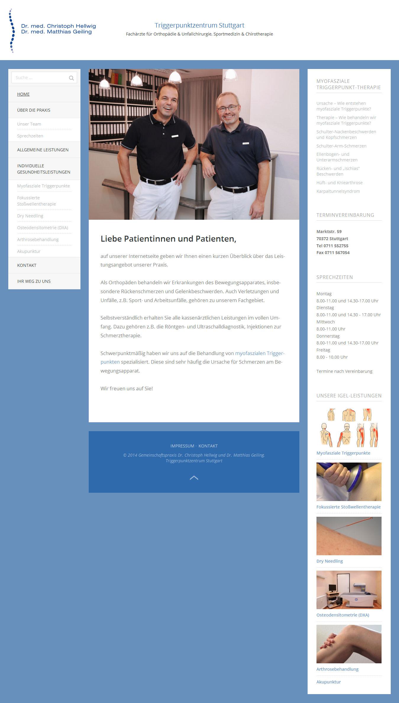 Responsive Website mit WordPress aus Stuttgart