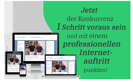 Internetauftritt für Heilpraktiker