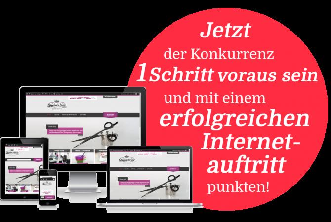 Homepage für Friseur Stuttgart