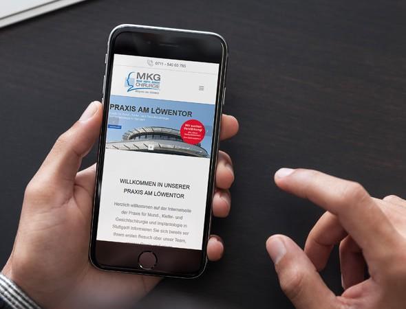 Homepage erstellen lassen Arztpraxis Praxis