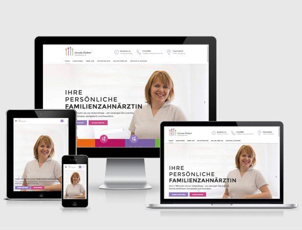 Webdesign Stuttgart Zahnarzt