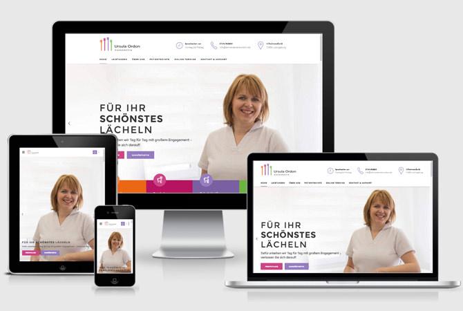 Webdesign Zahnarzt Ludwigsburg