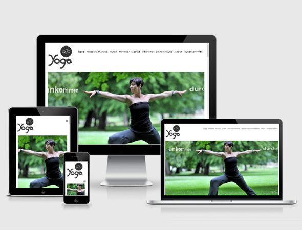 Webdesign Stuttgart – Yoga Studio