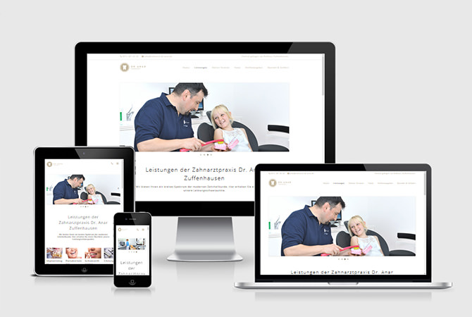 Homepage Praxishomepage Praxiswebsite