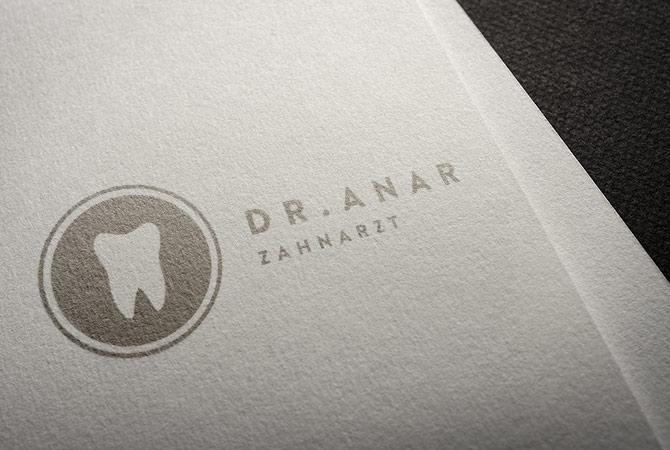 Logo Design Zahnarzt Zahnarztpraxis Arzt