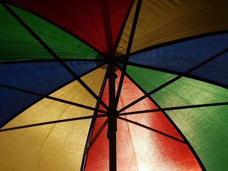 Logovorlage Regenschirm