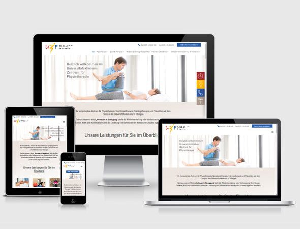 Physiotherapie Webdesign Stuttgart