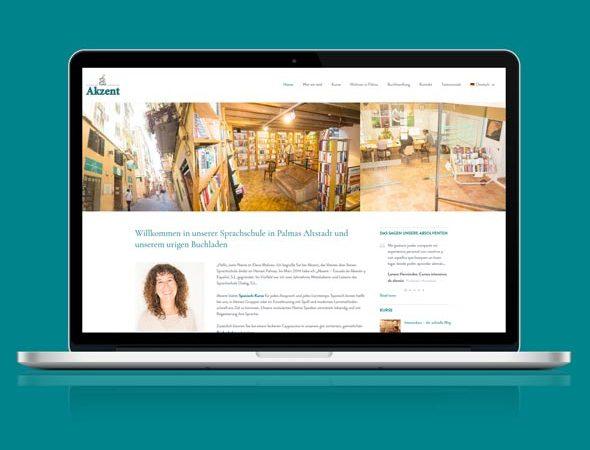 Responsive Webdesign Sprachschule Mallorca