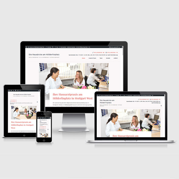 Webseite erstellen lassen Arztpraxis Stuttgart