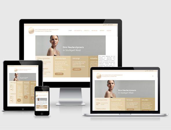 Hautarzt Homepage erstellen lassen
