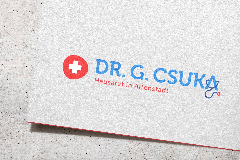 Logogestaltung Hausarzt Praxis Arzt