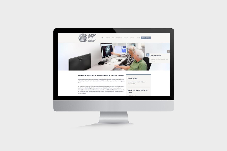 Radiologie Berlin Kurfürstendamm Website erstellen lassen