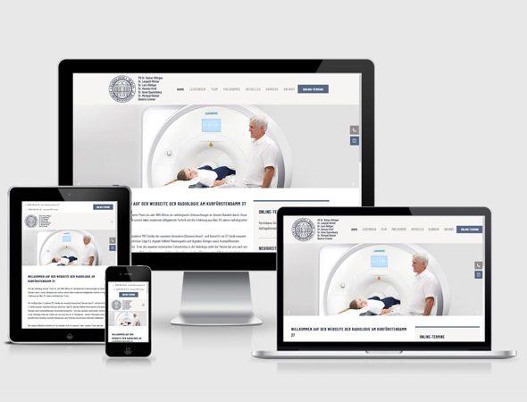 Homepage erstellen lassen Praxis