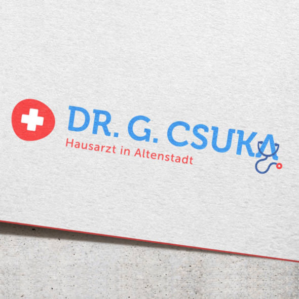 Logogestaltung Hausarzt Praxis Arzt Logo