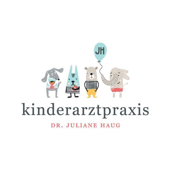 Grafikdesign Gestaltung Praxislogo Kinderarzt in Stuttgart Möhringen