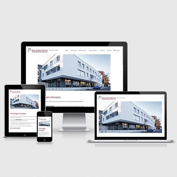 Webdesign Beratende Ingenieure Stuttgart Esslingen