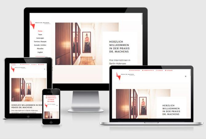 Webdesign Hausarzt Stuttgart Berlin