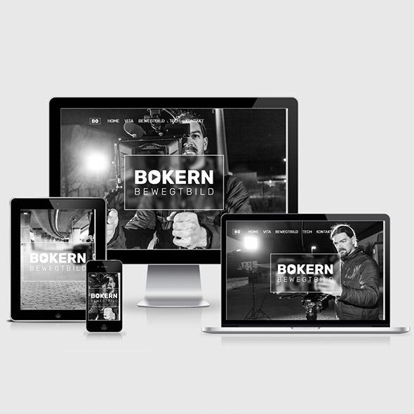 Webdesign Homepage Kameramann