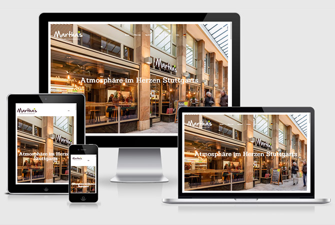 SlowFood Restaurant Stuttgart Webdesign