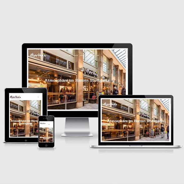 SlowFood Restaurant Stuttgart Webdesign