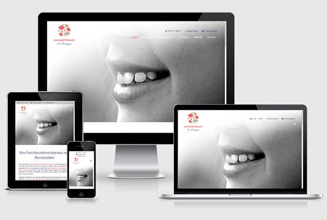 Webdesign Zahnarzt Stuttgart