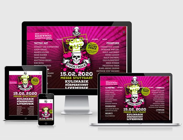 Charity Stuttgart Webdesign