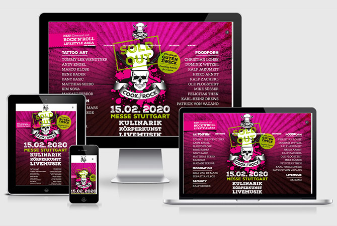 Charity Stuttgart Webdesign