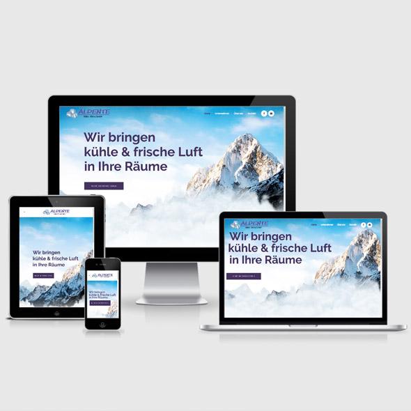 Website für Kälte- und Klimatechnik Stuttgart